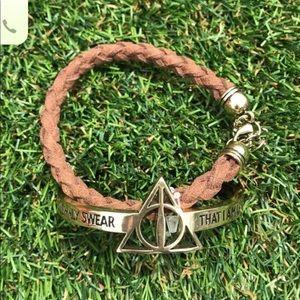 Harry Potter Braided Bracelet Set